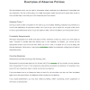 NE0012 Examples of Absence Policies