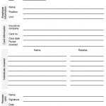 NE0039 Health Insurance Card Receiving template