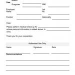 NE0041 Employee Referral To Doctor template