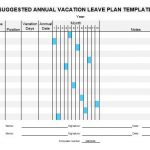 NE0049 Suggested Annual vacation leave plan - English