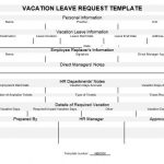 NE0050 Vacation Leave Request - English