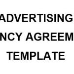 NE0142 Advertising Agency Agreement Template - English