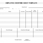 NE0007 EMPLOYEE OVERTIME SHEET TEMPLATE