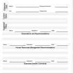 NE0099 Human Resources Work Regulations Amendment Template