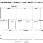 NE0111 Estimated Department Human Resources Needs Record Template - English