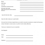 NE0125 NEW EMPLOYEE WORK PROCEDURE REQUEST TEMPLATE