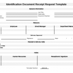 NE0135 Identification Document Receipt Request Template