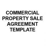 NE0184 Commercial Property Sale Agreement - English
