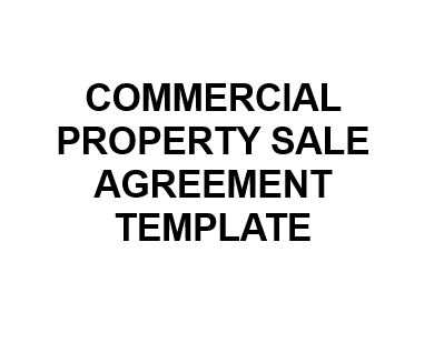 Sale Agreement Template For Property