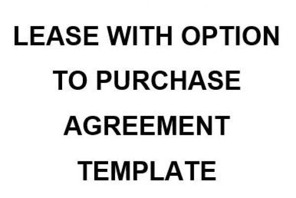 Lease Purchase Agreement Template from www.namozaj.com