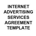NE0161 Internet Advertising Services Agreement Template - English