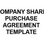 NE0163 Company Purchase Agreement Template – English