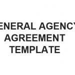 NE0192 General Agency Agreement Template – English