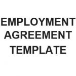 NE0193 EMPLOYMENT AGREEMENT TEMPLATE - ENGLISH