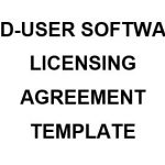NE0194 End-User Software Licensing Agreement Template - English