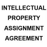 NE0201 Intellectual Property Assignment Agreement Template - English