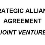 NE0202 STRATEGIC ALLIANCE AGREEMENT TEMPLATE -ENGLISH