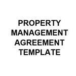 NE0213 Property Management Agreement Template - English