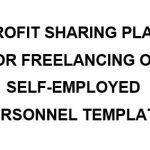 NE0211 PROFIT SHARING PLAN FOR FREELANCING OR SELF-EMPLOYED PERSONNEL TEMPLATE - ENGLISH