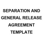 NE0222 Separation and General Release Agreement Template - English