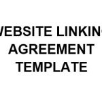 NE0230 WEBSITE LINKING AGREEMENT TEMPLATE - ENGLISH