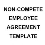 NE0239 NON-COMPETE EMPLOYEE AGREEMENT TEMPLATE - ENGLISH