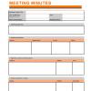 Meetings Schedule Template