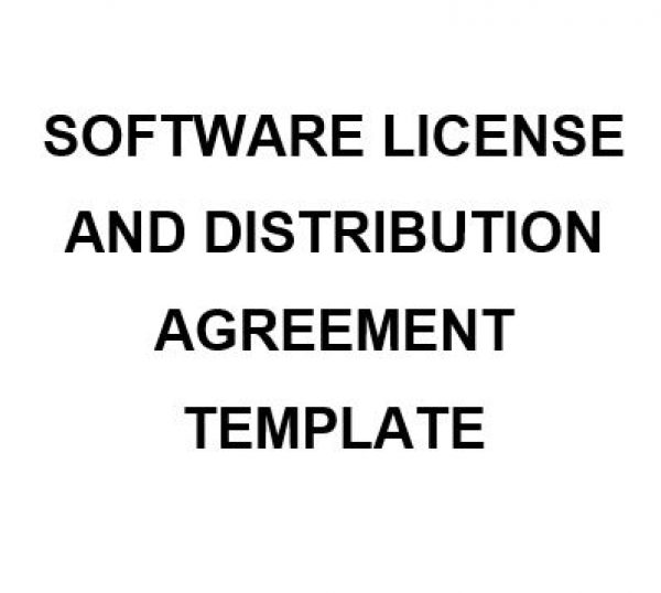 Ne0190 Software License And Distribution Agreement – English – Namozaj