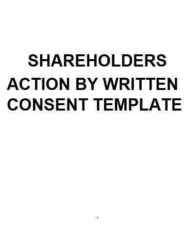 action by written consent of shareholders Record actions or decisions made by the board of directors at a corporation with our free directors' resolution forms create, print written consent to action without meeting of the sole director of what is the difference between a directors' resolution and shareholders.