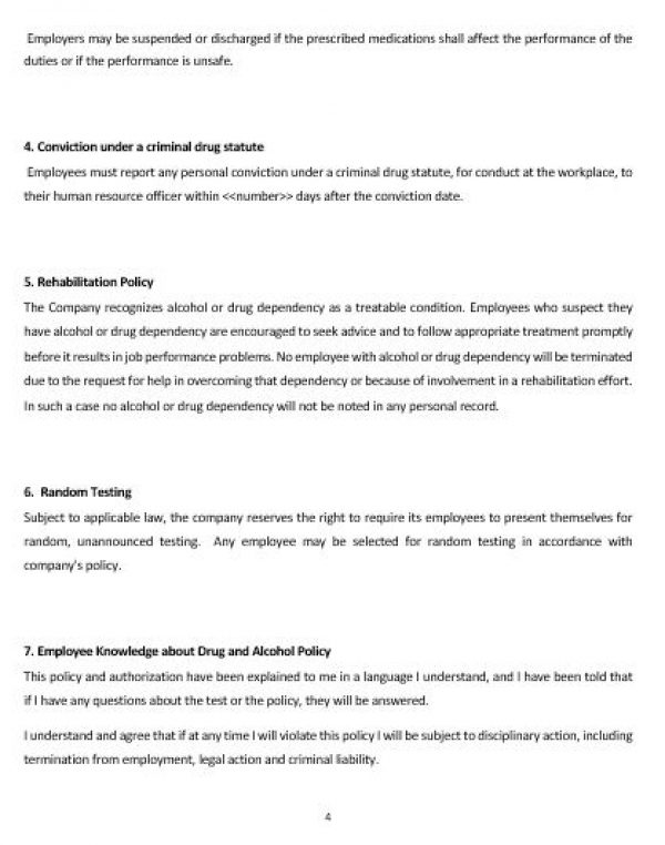 5+ drug & alcohol policy templates pdf, doc | free & premium.