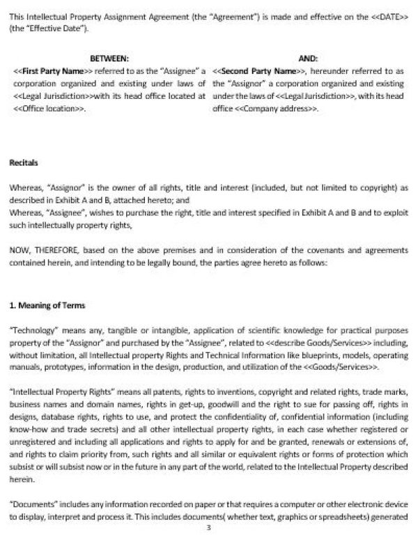 Ne0201 intellectual property assignment agreement template ne0201 intellectual property assignment agreement template english pronofoot35fo Images