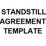 NE0203 STANDSTILL AGREEMENT TEMPLATE - ENGLISH