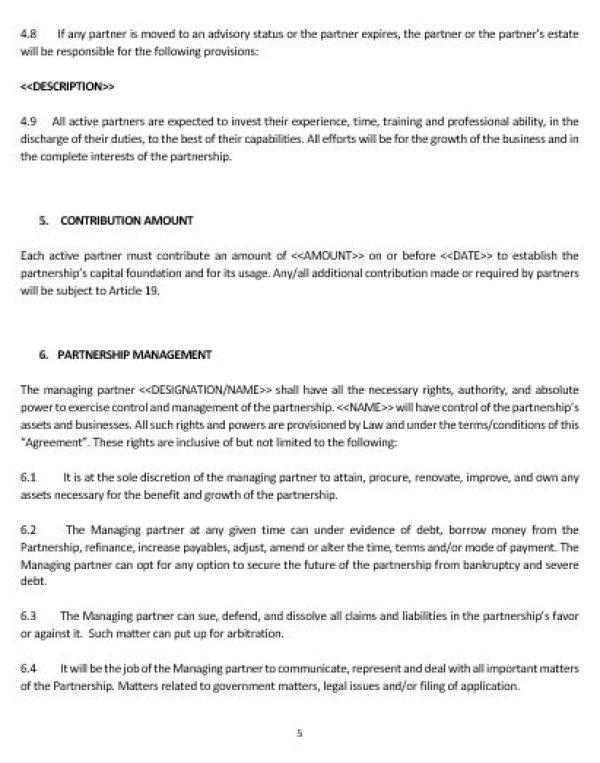 NE0208 BUSINESS PARTNERSHIP AGREEMENT TEMPLATE U2013 ENGLISH