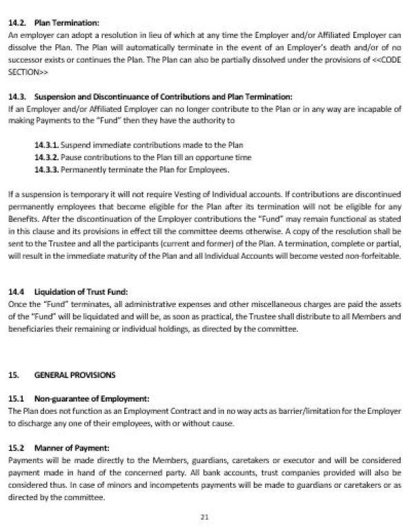 NE0211 PROFIT SHARING PLAN FOR FREELANCING OR SELFEMPLOYED – Profit Sharing Agreement Template