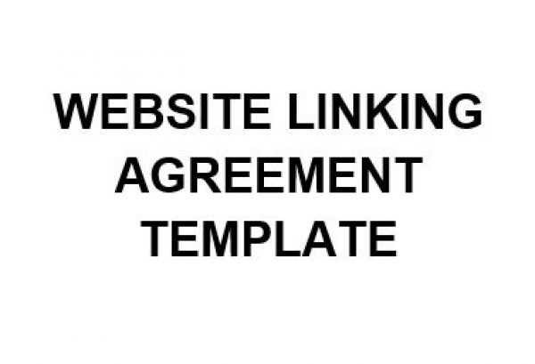 Ne Website Linking Agreement Template  English  Namozaj