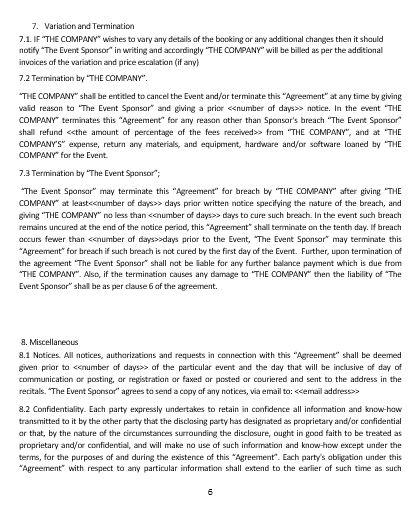 Ne0285 event sponsorship agreement template english namozaj ne0285 event sponsorship agreement template english platinumwayz